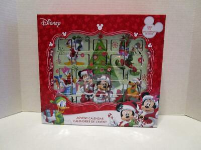 NEW Kurt Adler Mickey Mouse & Friends Table Top Xmas Countdown Advent Calendar