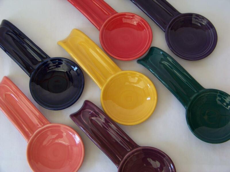 Fiesta® SPOON REST - 1st Quality Choice of Colors Discontinued & Current Colors