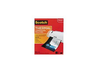 3m Scotch Tp3854-50 8.5 X 11 Letter Size Thermal Laminating Pouches 3 Mil 50