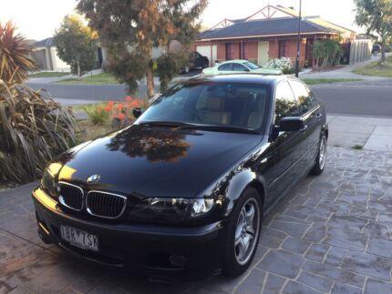 BMW Black Sedan