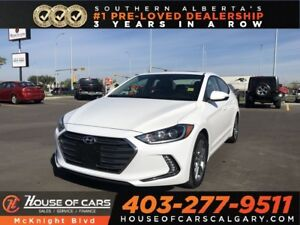 2018 Hyundai Elantra GLS / Leather / Sunroof / Back Up Cam