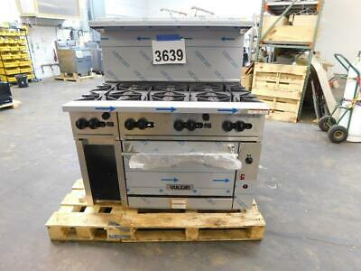 3639 New Sd Vulcan 48 Range 8-burner Convection Oven Pilot Burners 48cf-8bn