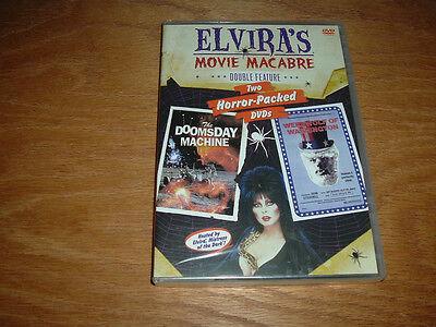 Elvira's Doomsday Machine/Werewolf Washington HAPPY HORROR HALLOWEEN GLOBAL - Happy Halloween Elvira
