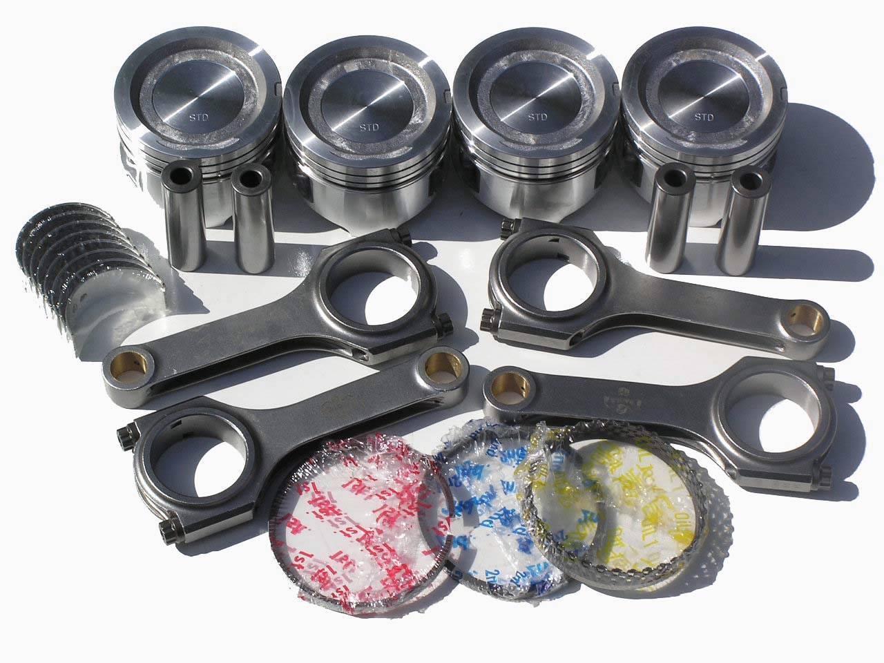 Nippon Racing Jdm Toyota 22r Turbo Engine Kit Pistons