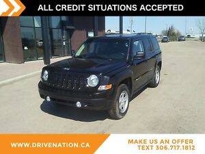 2014 Jeep Patriot Sport/North 4X4 SPORT UTILITY SUV, ROOF RAC...