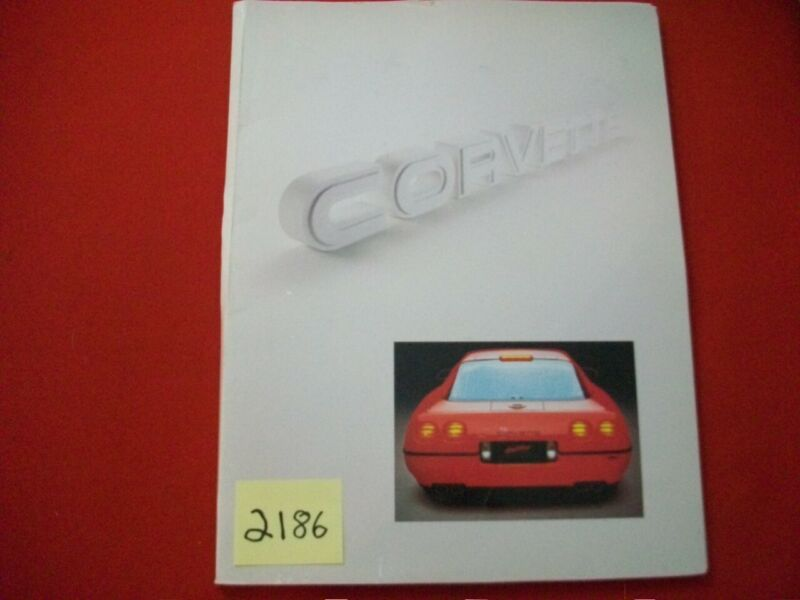 1996 CHEVROLET CORVETTE MUSEUM INFORMATION KIT COLLECTOR