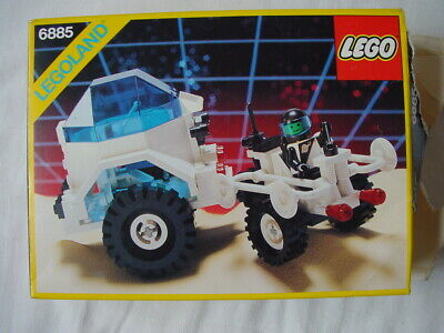LEGO SPACE 6885 CRATER CRAWLER - RARE VINTAGE SET FROM 1988 (see my other items)