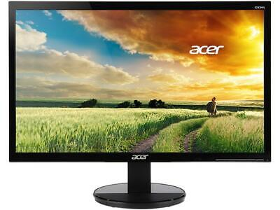 "Acer K242HL Dbid 24"" Black 1ms Response Time LED Monitor 1920 x 1080 Widescreen"