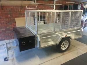 INFORMATION ABOUT STOLEN 7X 4 GALVANISED TRAILER - REWARD Banksia Park Tea Tree Gully Area Preview