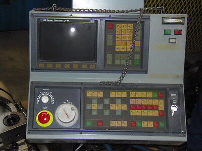 Ge Fanuc O-mc Cnc Control With Cabinet With A06b-6058-h334 A06b-6059-h203 A02