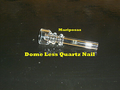 (1) DOMELESS QUARTZ NAIL * *LAB/CHEMISTRY CATALYST  on Rummage