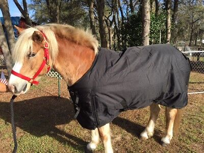 """New 80"""" 1200D Winter WATERPROOF and BREATHABLE Turnout BLANKET Horse Size"""
