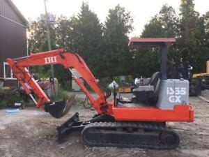 Mini Excavator IHI IS35GX