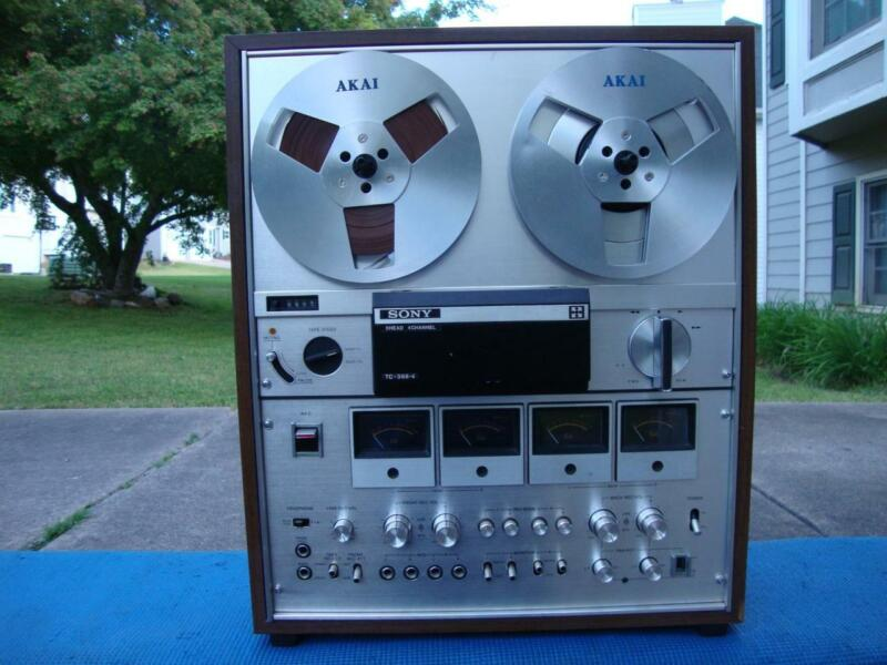 Super Nice Sony TC-388-4 Reel to Reel Tape Deck w/ Free Tape - Pro Serviced
