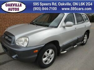 2005 Hyundai Santa Fe GL-4WD-leather-roof