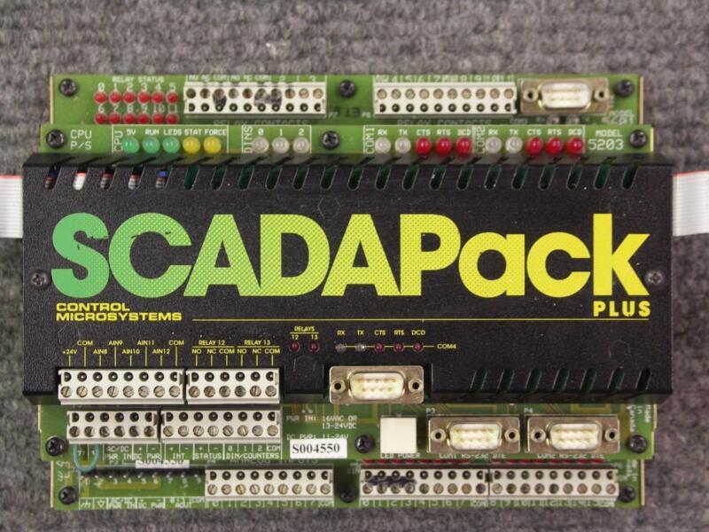 Schneider Electric Control Microsystems SCADAPack PLUS 5203 5601 PLC Controller