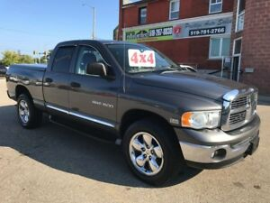 2004 Dodge Ram 1500 LARAMIE 5.7L HEMI - 4X4 - SAFETY/WARRANTY IN