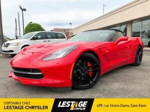 2017 Chevrolet Corvette 2LT STINGRAY / CONVERTIBLE / NAVIGATION