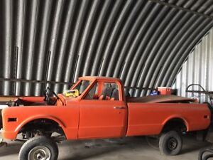 1972 Chevy/GMC truck project