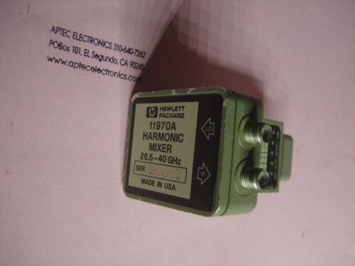 HP 11970A Harmonic Mixer, 26.5-40 GHz tested good NICE