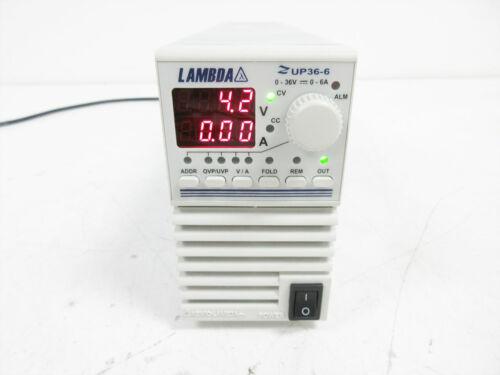LAMBDA ZUP36-6 POWER SUPPLY 36V 6A ~ TDK AMERICAS ZUP 36-6