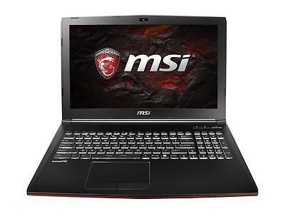 """MSI 15.6"""" GP62MVR Leopard Pro i7-7700HQ Nvidia GTX 1060 3GB GDDR5 16GB - IPS 4K"""
