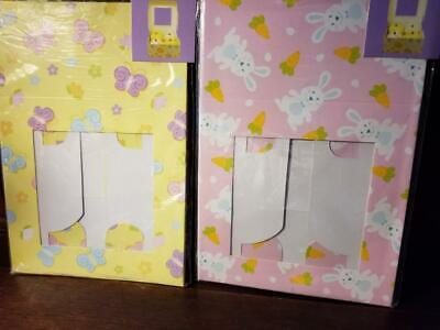 NEW 2 PACKS =4 EASTER THEME CUPCAKE BOXES  6