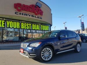 2014 BMW X1 xDrive28i PANO ROOF WHITE LEATHER H-TED WHEEL
