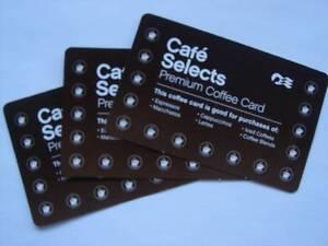 COFFEE CARDS x 3 - PRINCESS CRUISES - New & Unused Kurrajong Hawkesbury Area Preview
