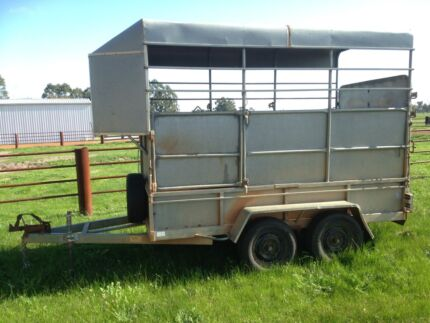 Horse Float/ cattle trailer North Dandalup Murray Area Preview