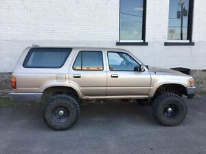 94. Runner. 6 inch suspension lift