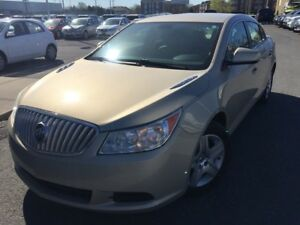 2010 Buick LaCrosse CX BLUETOOTH MAGS JAMAIS ACCIDENTÉ