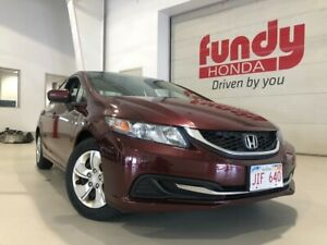 2014 Honda Civic Sedan LX w/heated front seats, MANUAL ONE LOCAL