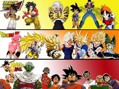 Dragon Ball, Dragon Ball Z, DBGT, Dragon Ball Super Anime Complete Series