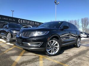 2016 Lincoln MKX Reserve AWD|HEATED SEATS|ACTIVE PARK ASSIST|...
