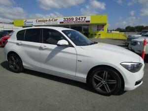 2013 BMW 116i F20 116i White 8 Speed Sports Automatic Hatchback Kedron Brisbane North East Preview