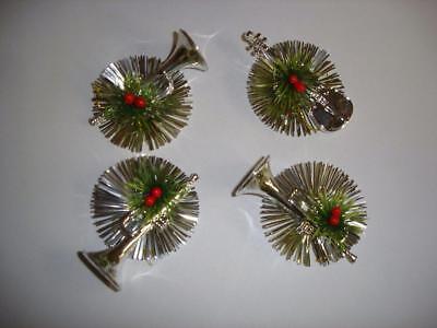 Bulk Buy Pack 96 Assorted Silver Tinsel/Instrument Christmas Tree Decorations](Bulk Tinsel)