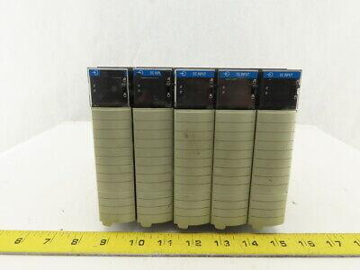 Allen Bradley 1756-ib16a Fw Rev 2.5 Cat Rev G01 Dc Input Module Lot Of 5