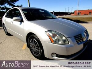 2006 Nissan Maxima SE ***CERTIFIEID ACCIDENT FREE*** $4,999