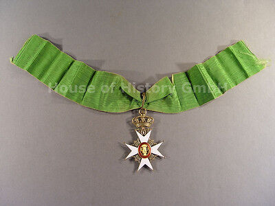 Schweden: Wasa Orden Kommandeurkreuz 2.Klasse, Silber vergoldet und emailliert