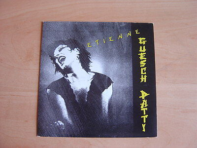 """Guesch Patti: Etienne 7"""": 1987 UK Release: Picture Sleeve"""