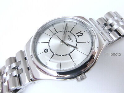 """Swatch: Die Silver Irony Big Classic """" Moonstep """" (YWS406G) New/Very Rarely"""
