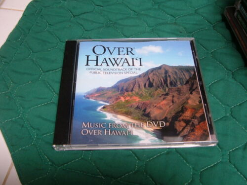 """""""OVER HAWAII-OFFICIAL SOUND TRACK of PUBLIC TV SPECIAL"""" LOCAL ARTISTS MUSIC CD"""