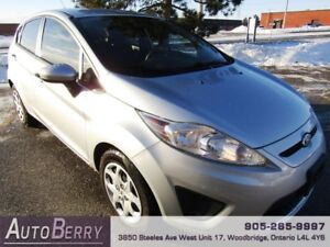 2011 Ford Fiesta SE **ACCIDENT FREE ** CERTIFIED** 5 SPD $4,999