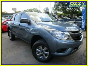 2017 Mazda BT-50 MY17 Update XT Hi-Rider (4x2) Blue 6 Speed Automatic Dual Cab Utility Penrith Penrith Area Preview