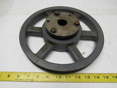 Browning 3q3v106 2 Groove 3v Belt Split Taper Pulley W1-18 Q1 Bushing