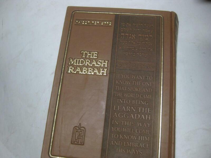 The Midrash Rabbah on Megillath Eichah HEBREW & ENGLISH With explanation Judaica