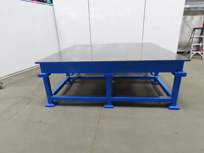 1 Thick Web Top Layout Inspection Work Welding Table Bench 89-34x83-34x32