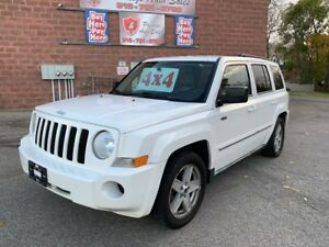 2010 Jeep Patriot 4X4/2.4L/NO ACCIDENT/CERTIFIED/WARRANTY INCLUD