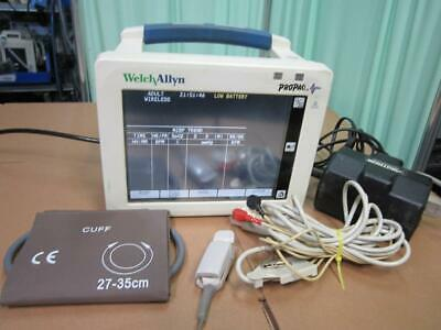 Welch Allyn Propaq Cs 242 Vital Signs Patient Monitor Spo2 Nibp Ekg Acuity